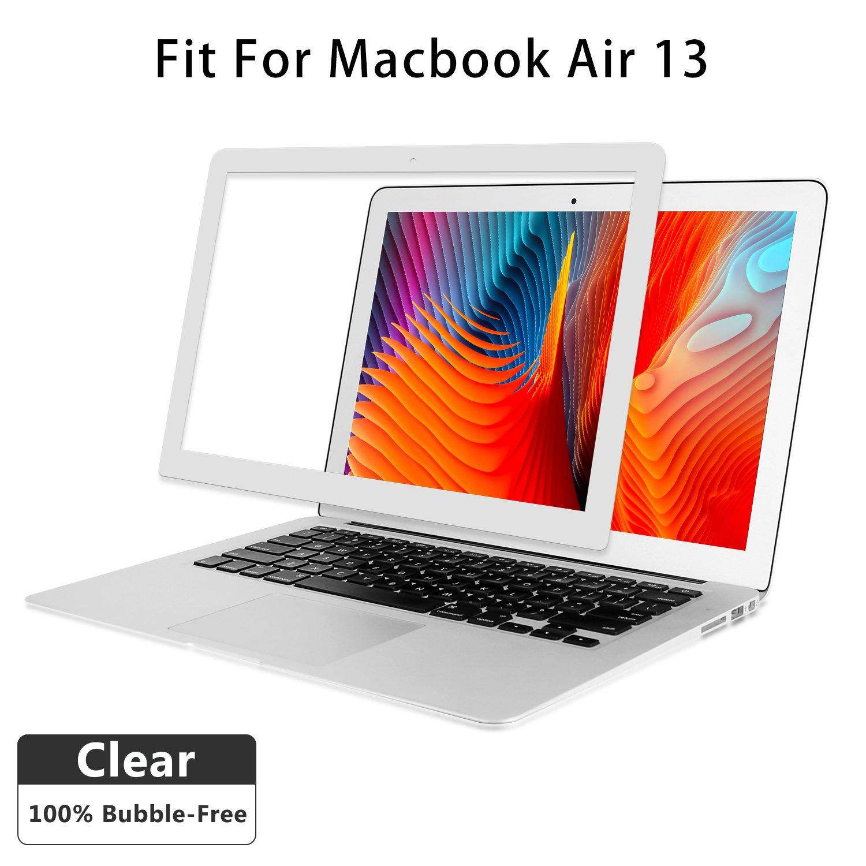 Air 13 inch Clear Screen Protector, HD Clear Screen Film for MacBookAir 13''Model A1369/A1466