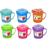 Sistema Klip It Microwave Soup To Go Mug, 656ml, Assorted Colours