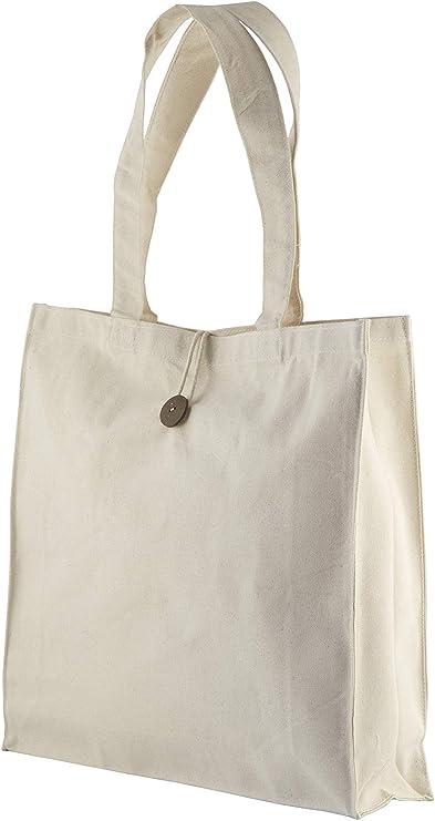 Jute & Co. Sef de 3 Bolsas de Dim. 37 x 37 x 10 cm, 100% algodón ...