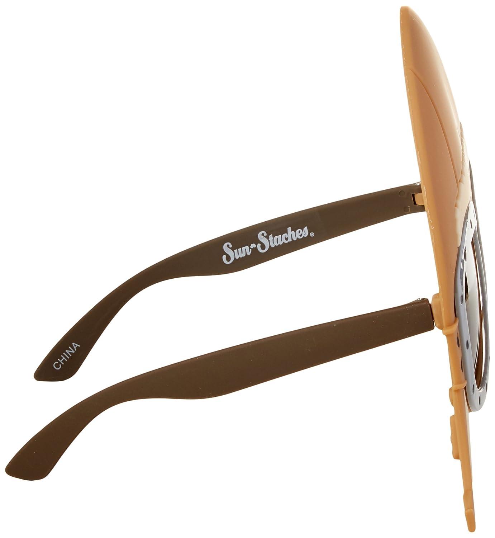 5651ca189d Amazon.com  Sun-Staches Costume Sunglasses Air Pilot Goggle Party Favors  UV400  Toys   Games