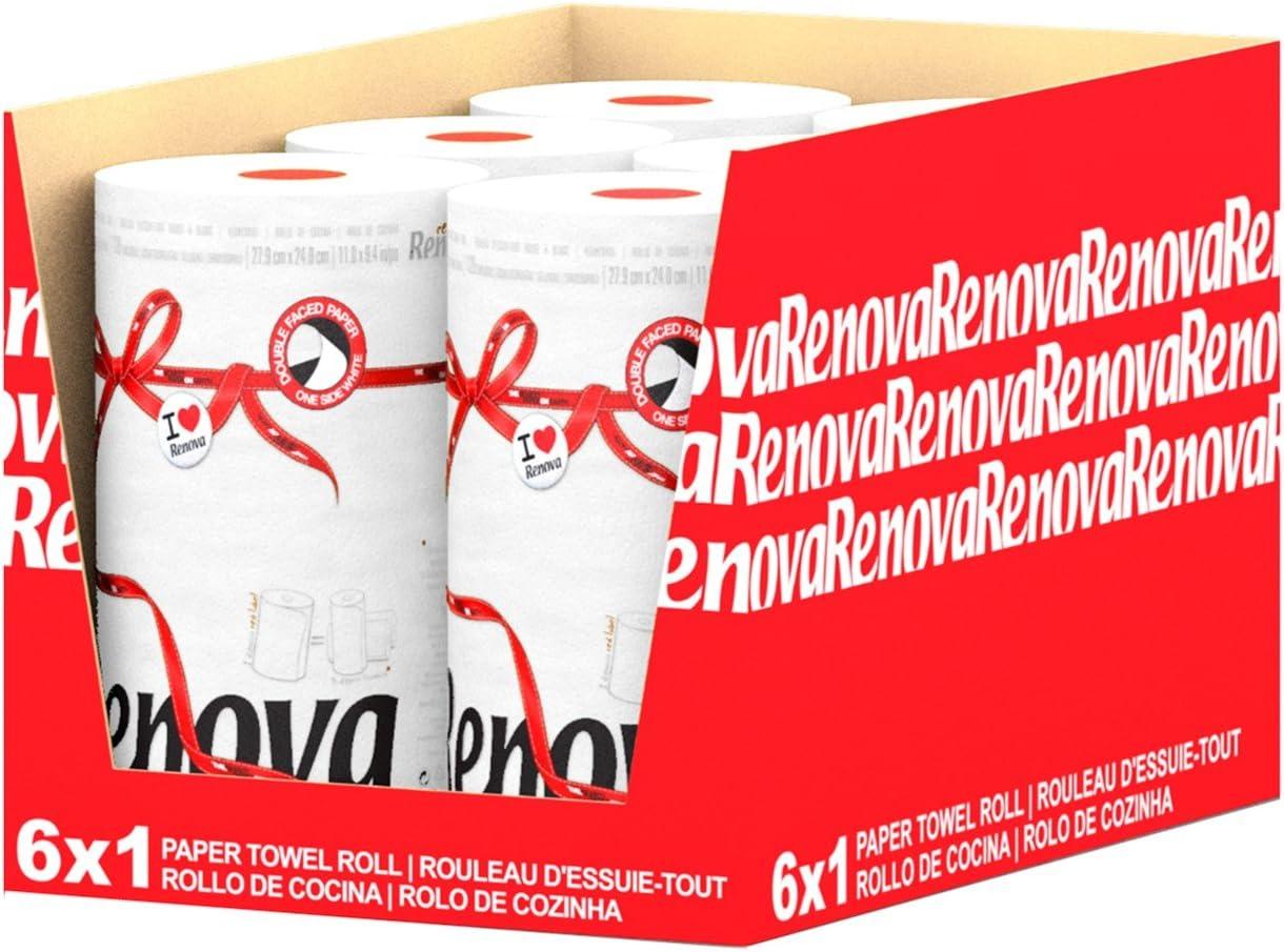Renova Rollos de cocina Red Label Naranja Triple 1 rollos de cocina