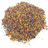 Spring Flower Blend – Edible Rose, Cornflower and Marigold - Organic, non-GMO, Culinary grade (0.35oz) - Edible flowers - Pre