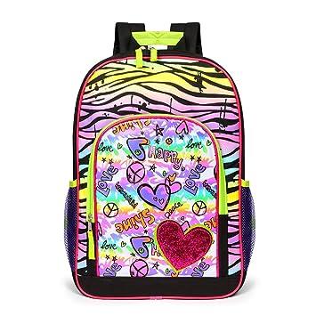 Mochila elegante y personalizada niña doble bolsa de hombro bolsas estudiante elegante mochila grande core niñasmochila