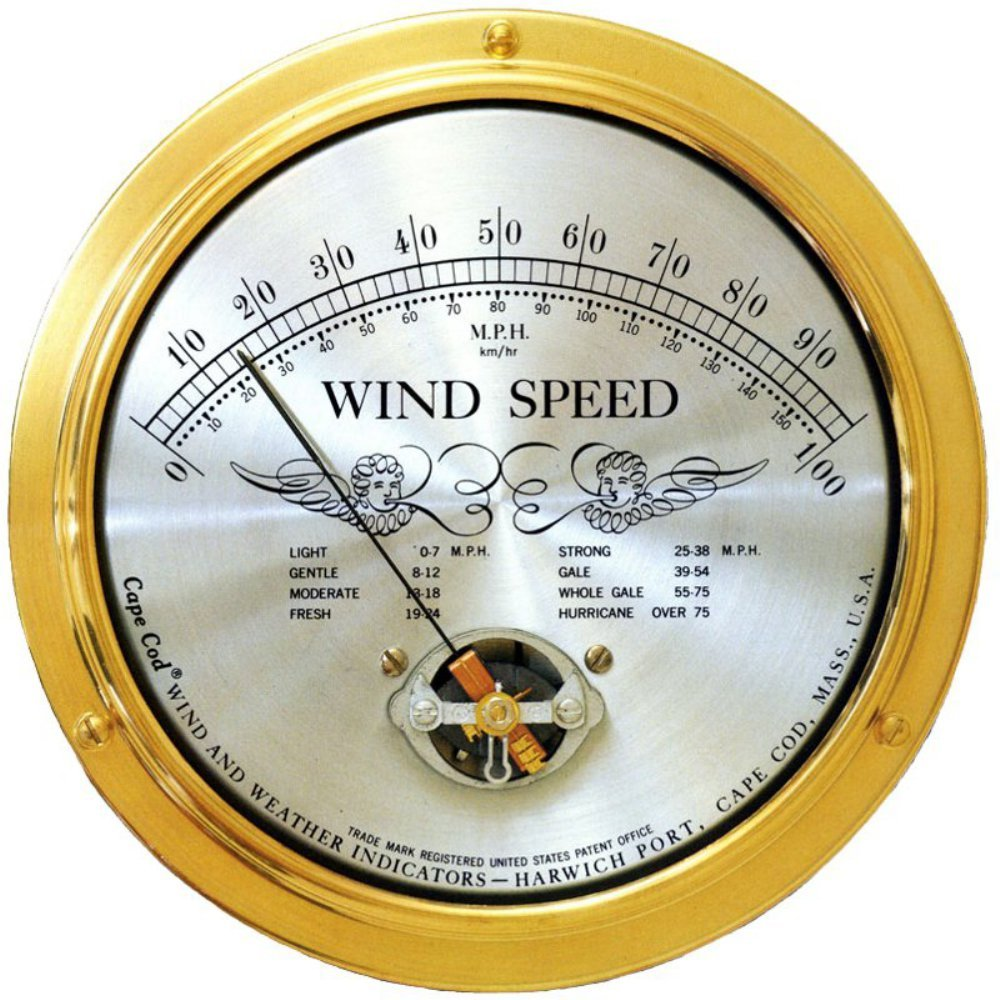 Cape Cod Wind Speed Indicator
