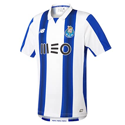 b3639b8fd382e Amazon.com : New Balance FC Porto Home Jersey [WT] : Clothing