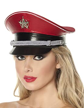Adult Red Dictator Hat  Amazon.co.uk  Toys   Games 3eb035fd6f7