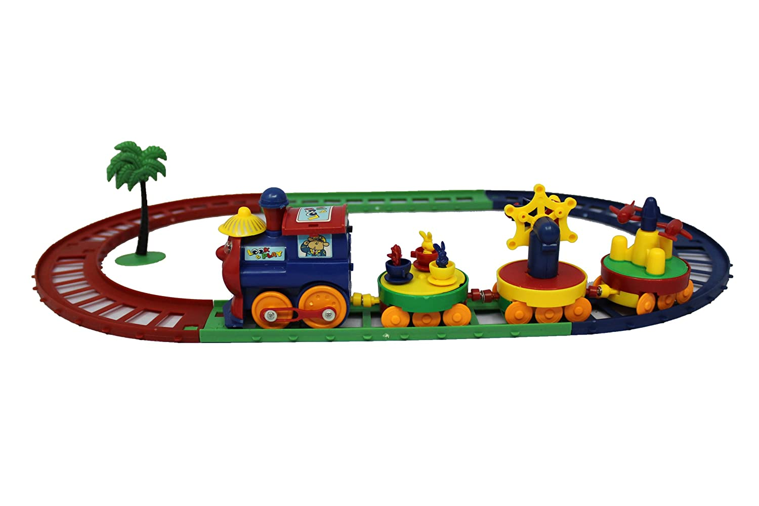 Buy Gifts Online Cartoon Play Train Set Best Toy Train For Kids Online At Low Prices In India Amazon In