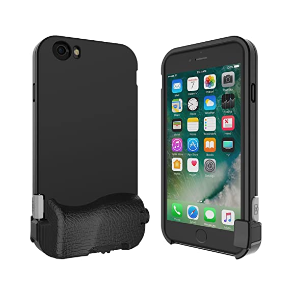 best service f6d85 01f06 bitplay SNAP! 7 iPhone 6, iPhone 6s protective add-on camera lens case  (Lenses not include) - Black