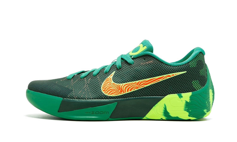 d6dfe409533a Nike KD Trey II Dark Emerald Volt Total Orange Green 653657-378 Men  Basketball (10)  Amazon.in  Shoes   Handbags