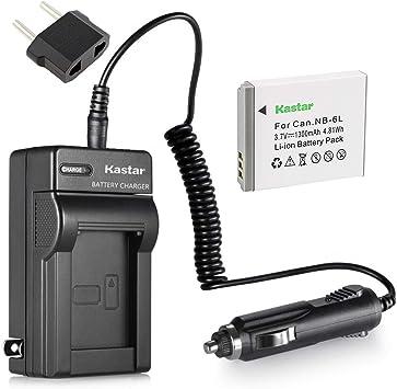 NB-6LH Batería//Cargador para Canon PowerShot SX170 SX500 SX510 SD1200 SD4000 es