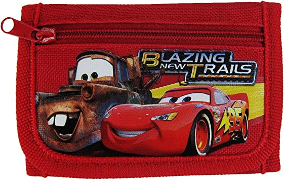 Disney Pixar Cars Kids Wallet Purse