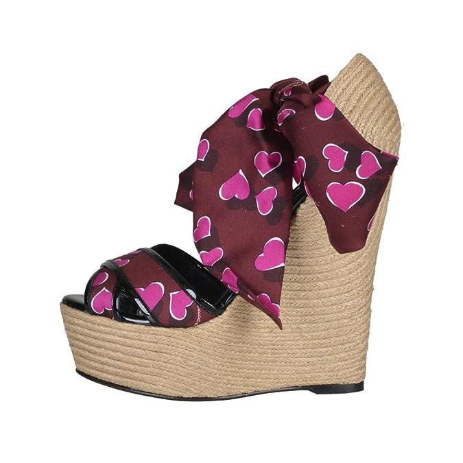 81902ae903c Amazon.com  Gucci Women s Platform Wedges Ankle Strap Sandals Shoes  Shoes