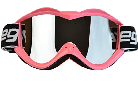 0c0ec03ed512 Amazon.com  Vega Helmets Unisex s Goggle Pink One Size  Automotive