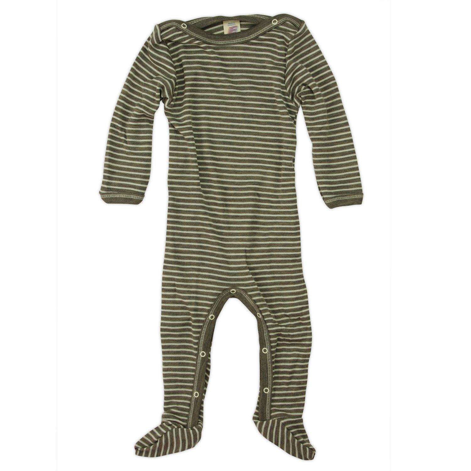 Engel Baby Footie Pajamas With Buttons 709160
