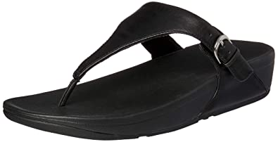 5e7d47f81ab5 Fitflop Women s Skinny Toe-Thong Sandals-Leather Heels  Amazon.co.uk ...