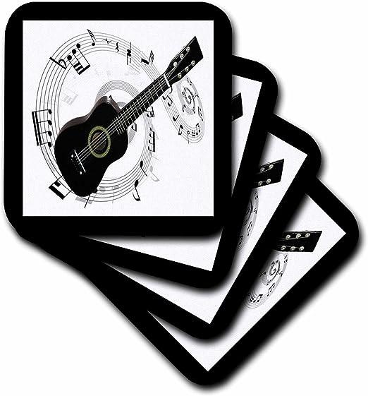 Compra 3dRose cst _ 50912 _ 3 N notas musicales guitarra baldosa ...