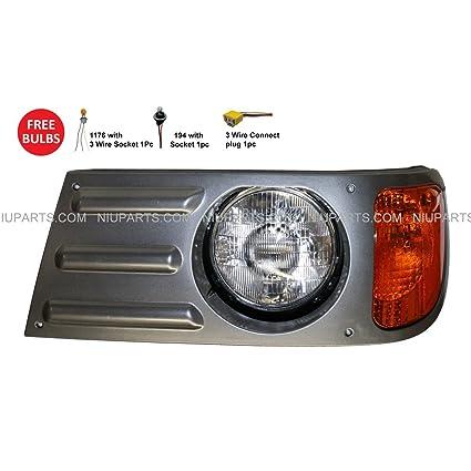 Amazon com: Headlight Lamp - Driver Side (Fit: Mack Granite CV713