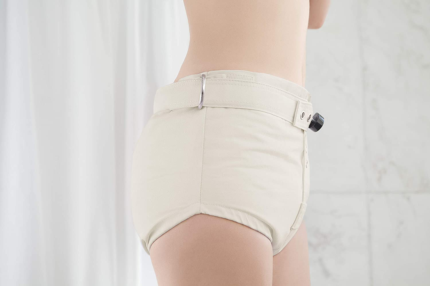 Lockable Diaper Cover Pants Anti Diaper Removal ABDL Adult Baby