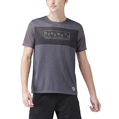 2Go Activewear Men's Printed Regular Fit T-Shirt | .com