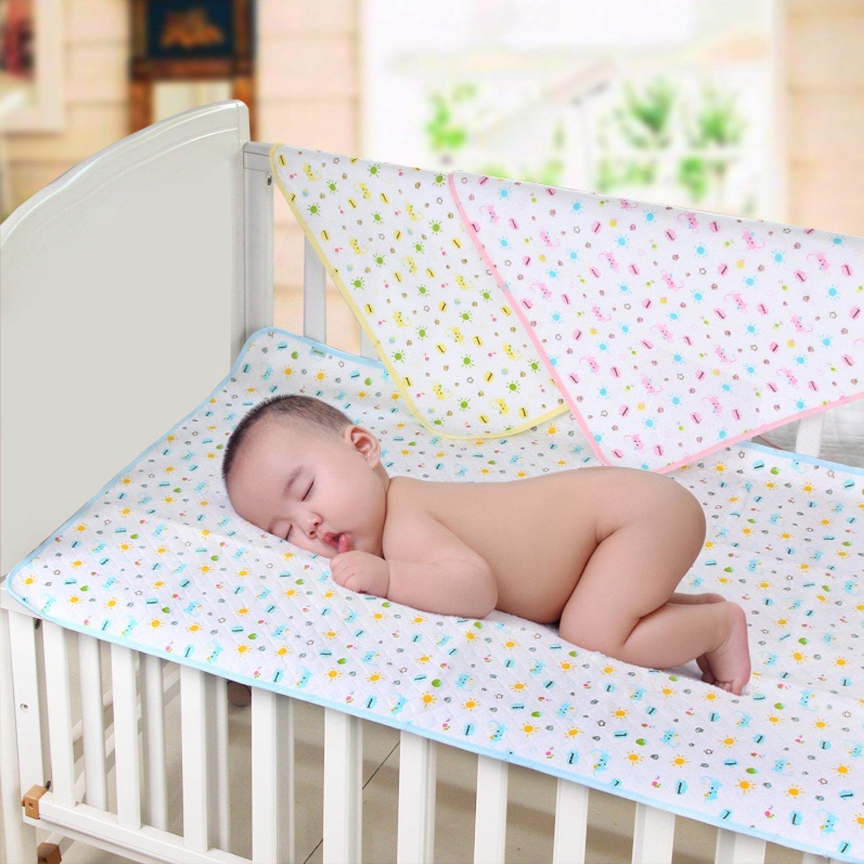 35 x 45 cm Baby Unterlage Wasserdicht Matratze Wickelunterlage Fantasie-Stern, S 3 St/ück Matratze Pads Baby Unterlage Kleinkind wasserdichte Krippe Blatt Matratzenschoner
