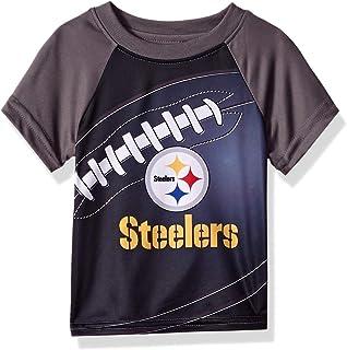 c7bea875b Amazon.com  Gerber Pittsburgh Steelers Toddler Field Performance T ...