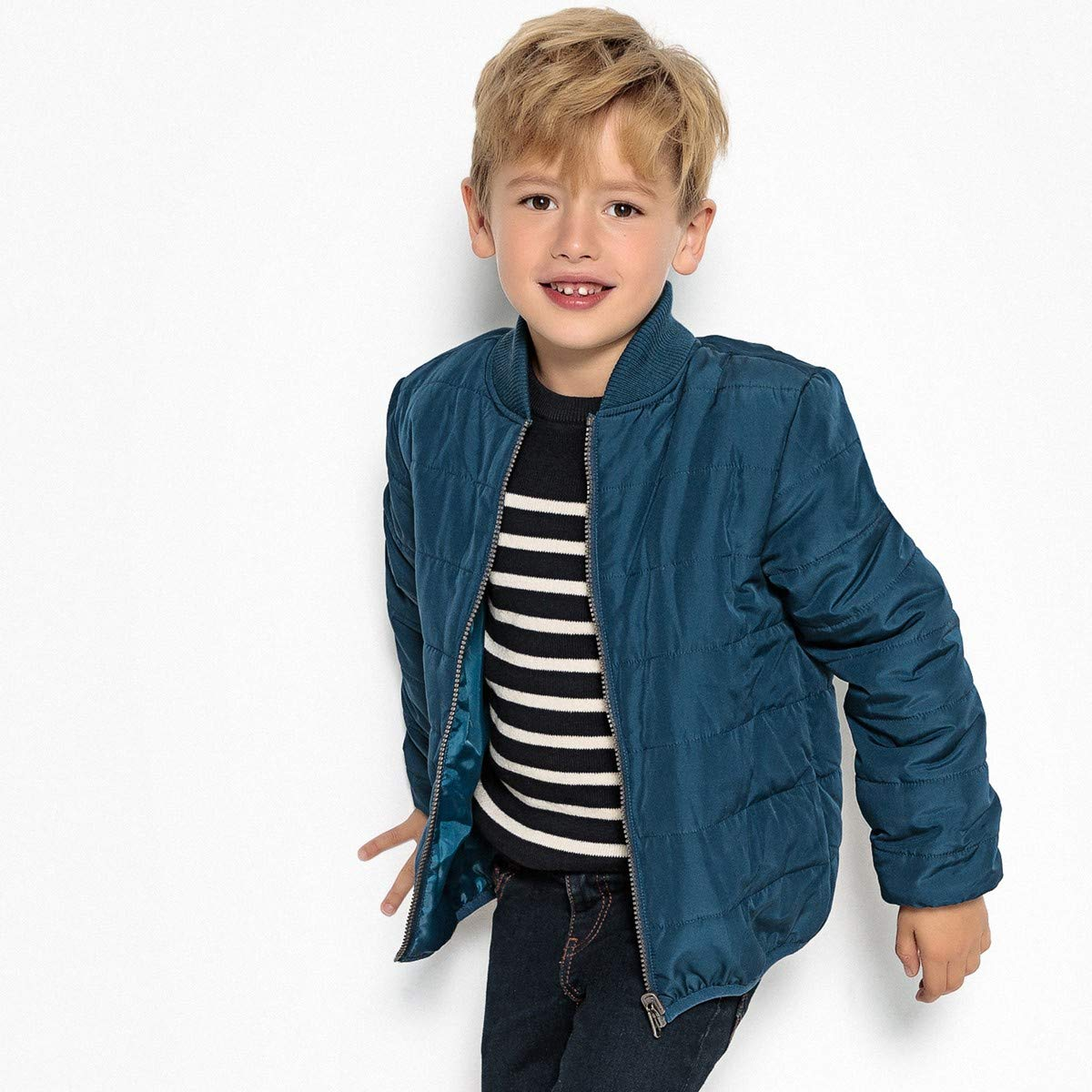 La Redoute Collections Big Boys 3-in-1 Parka, 3-12 Years Green Size 6 Years - 44 in. by La Redoute (Image #2)