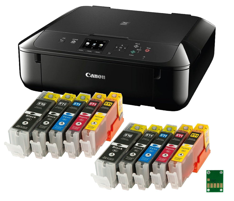 Bundle – Canon PIXMA MG de 5750 multifuncional de inyección de ...