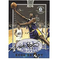 $59 » Score Board Rare Kobe Bryant 1997 STRONGBOX Gold Autographed Collection Rookie Card! Lakers Legend!