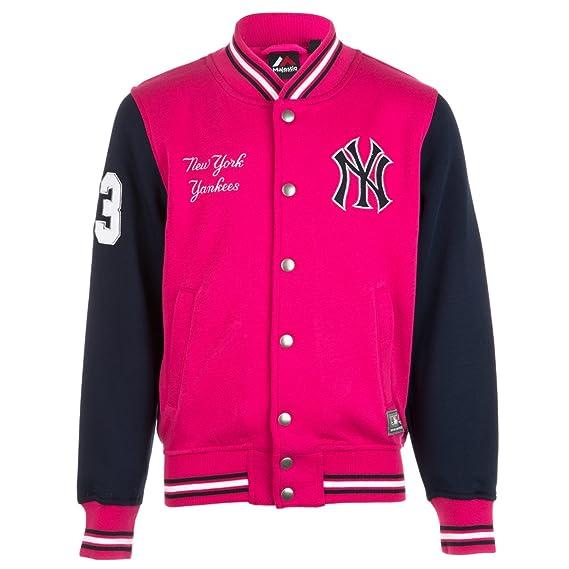 351ebd03af3d2 Majestic  Chaqueta universitaria de los New York Yankees para Chica (Rosa)