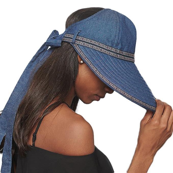 CACUSS - Sombrero de Verano para Mujer 2fa28297a6f