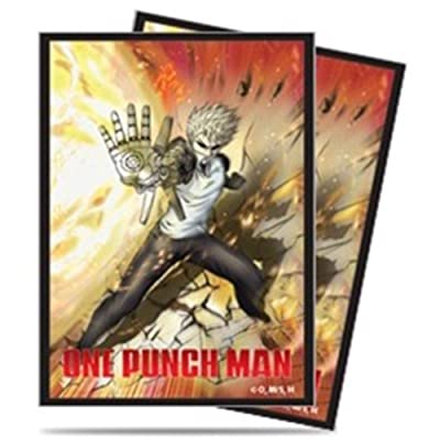 """Ultra Pro One-Punch Man""""Genos"""" Deck Protector Sleeves (65 ct.): Home Improvement"""