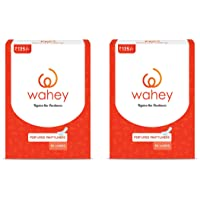 Wahey Perfumed Panty Liners/Pantyliners With Cottony Covering, Pack Of 2 (100 pcs)