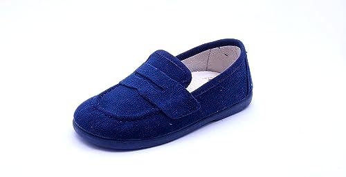 Zapato MOCASINES para NIÑO - 575 MOCASIN SOAVE T26 MARINO: Amazon.es: Zapatos y complementos