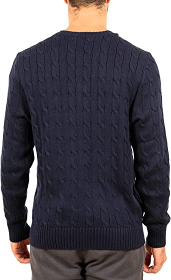 Polo Ralph Lauren Pullover UOMO Hunter Navy: Amazon.es: Ropa y ...