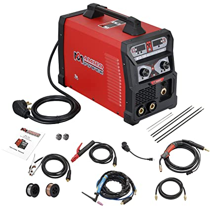 mts 165 165a mig wire feed flux core tig torch stick arc welder