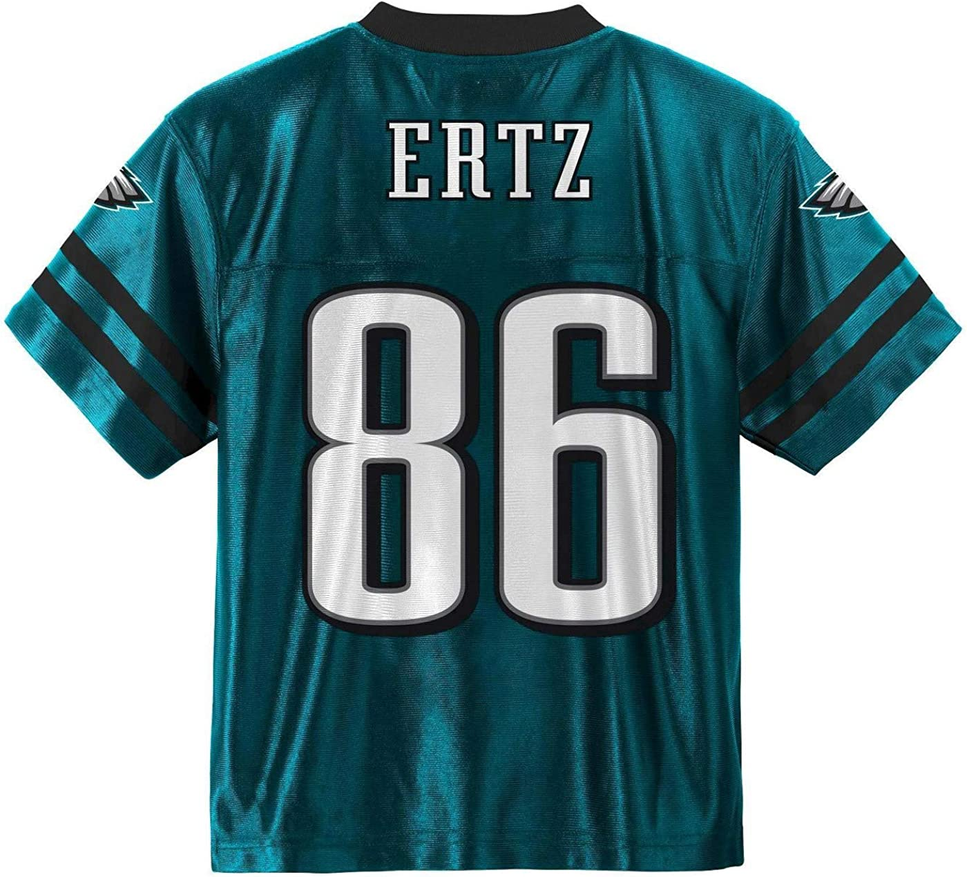 Zach Ertz Philadelphia Eagles #86 Green Youth Name /& Number Jersey T-Shirt
