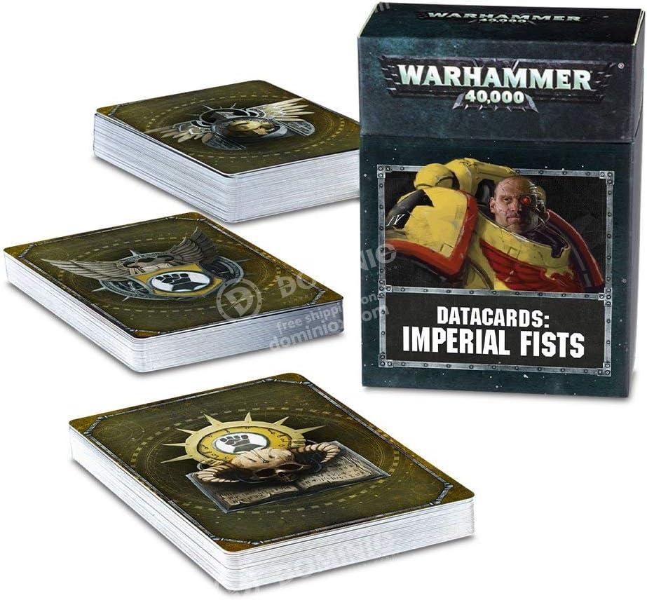 Games Workshop Warhammer 40,000: DATACARDS: Imperial Fists