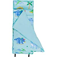 Wildkin Microfiber Nap Mat with Pillow for Toddler Boys and Girls, Measures 50 x 20 x 1.5 Inches, Ideal for Daycare and…