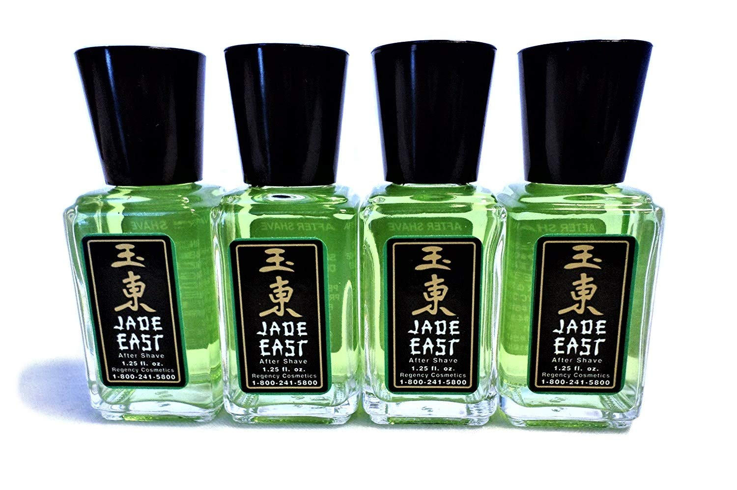 Jade East After Shave 1.25 Ounce 4 Travel Bottles by Jade East