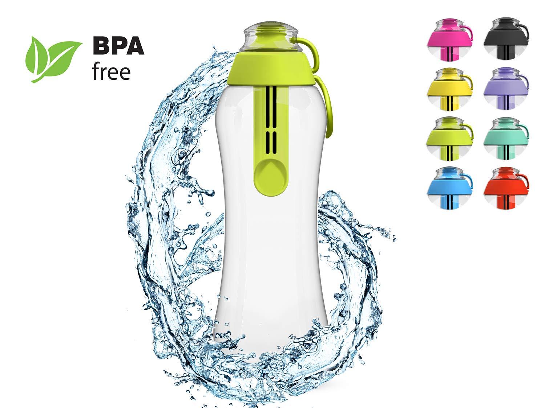 PearlCo filtro de agua botella filtro de 0,5 l - Incluye 1 filtro verde: Amazon.es: Hogar