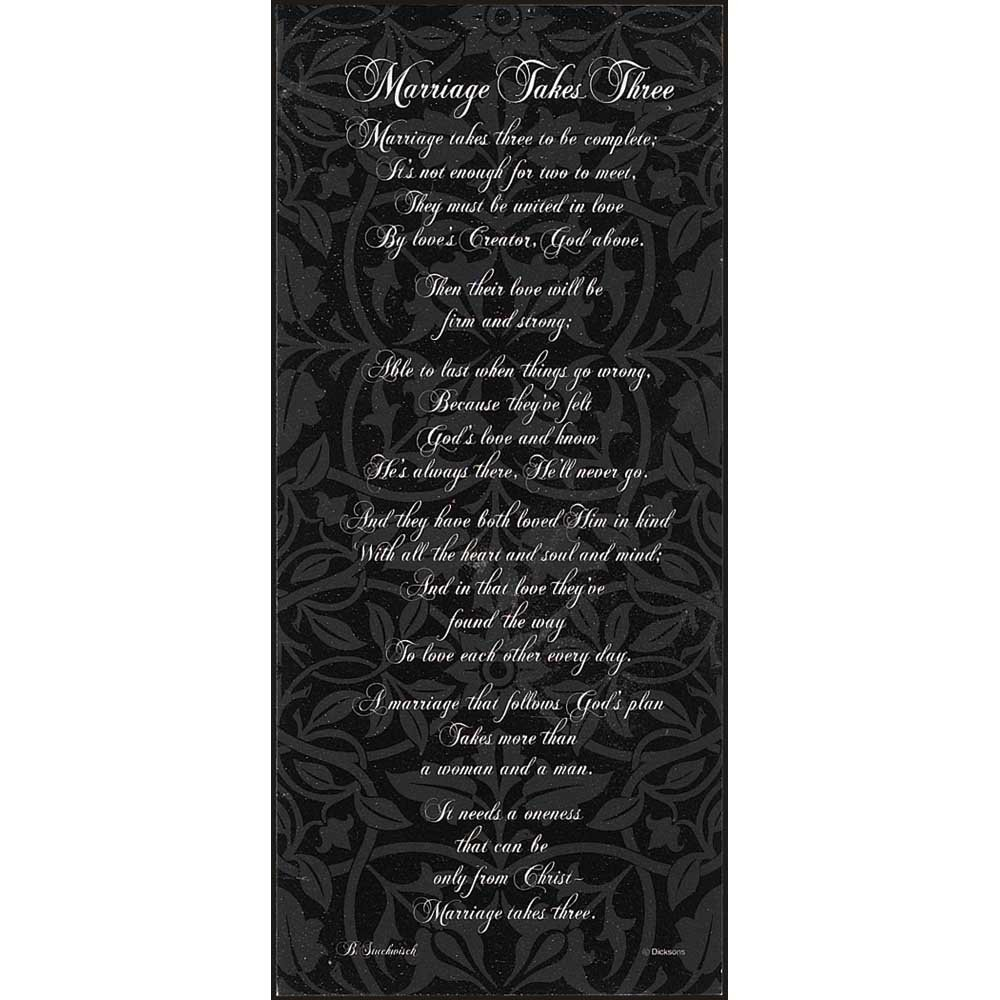 Dicksons Family Blessing Script Classic Black /& White 8 x 8 Wood Wall Sign Plaque Home
