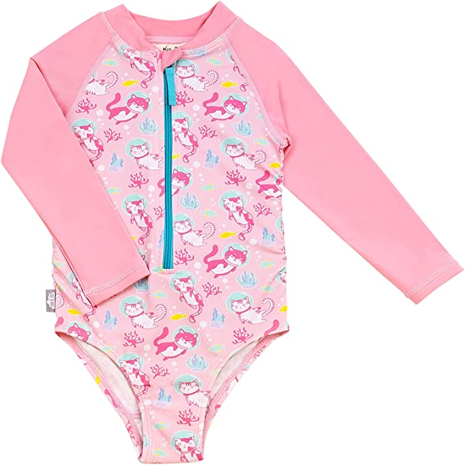Girls or Boys Kids Toddler JAN /& JUL UPF 50+ Long Sleeve Swim Shirts OR Sets for Baby