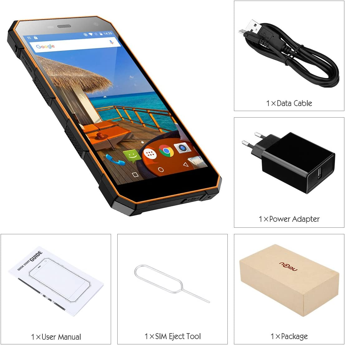 NOMU S10-4G Smartphone Libre (Android 6.0, 5
