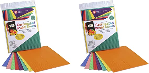 240 Sheets 8.5 x 11-Inch 12 Asstd Colors Hygloss Products Bright Paper