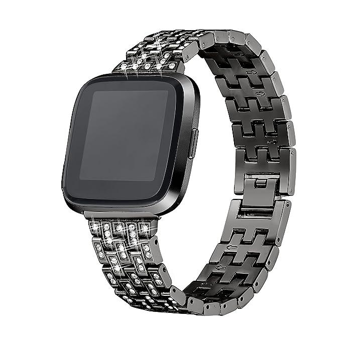 Amazon.com: bayite para Fitbit Versa bandas para mujer ...