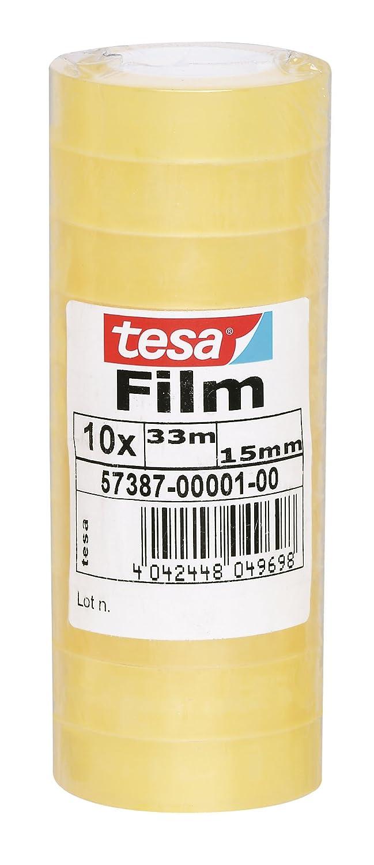 Tesa 57387 Confezione 10 Film Standard, 15 x 33 mm 57387-00001-00
