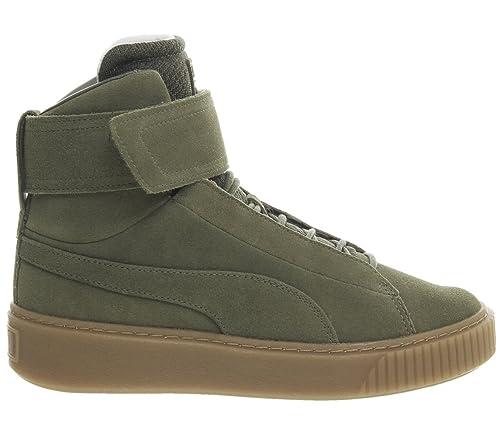 Puma Platform Mid OW Wn's Sneakers Verde Marrone 364588 01