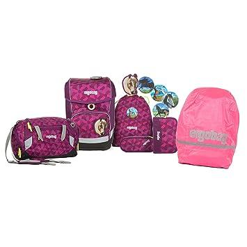 Ergobag Pack Seitentaschen Pink 3-teilig