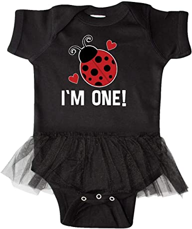 inktastic 1st Birthday Ladybug 1 Year Old Toddler Long Sleeve T-Shirt