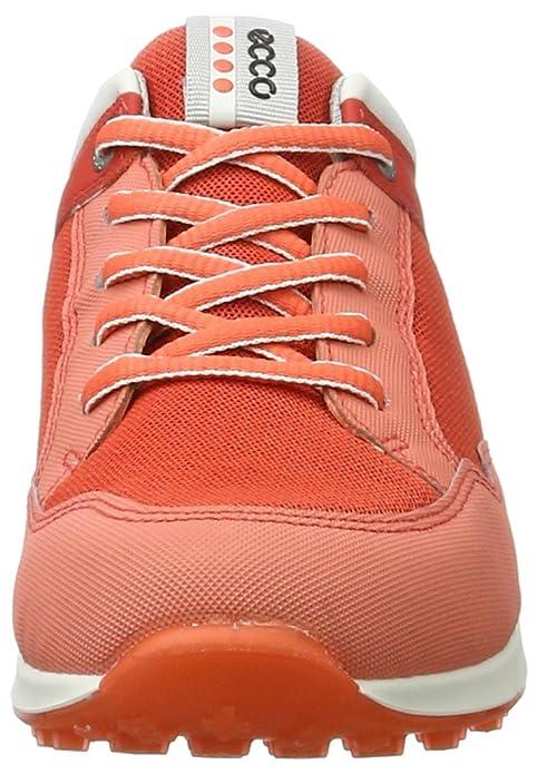 Ecco Damen Women's Golf Speed Hybrid Golfschuhe, Orange (50427CORAL Blush/Silver Met./Coral Blush), 35 EU